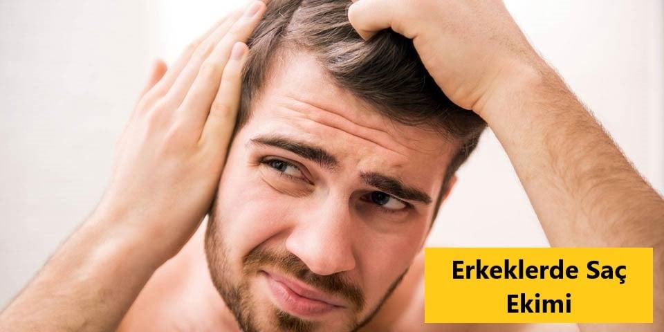 Erkeklerde Saç Ekimi